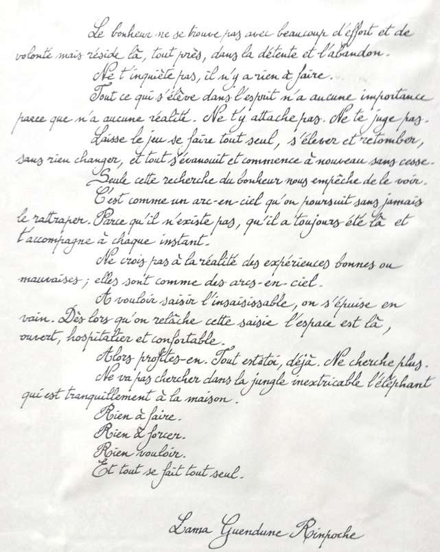 Texte lama Rinpoche
